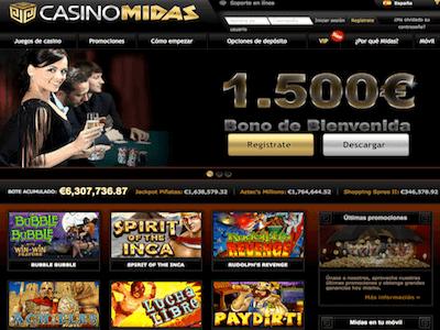 casinomidas homepage