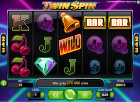 tragamonedas twin spin netent